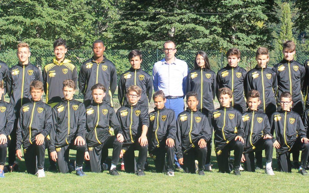 3 gardiens AGB U13 parmi les meilleurs gardiens de but de la haute-Garonne.