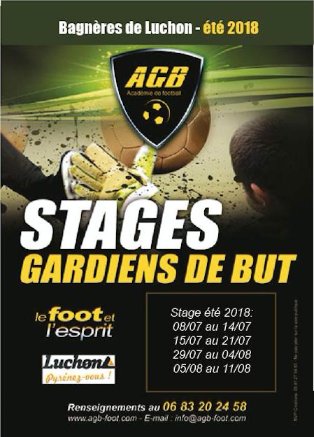 Ouverture stages AGB d'été 2018.